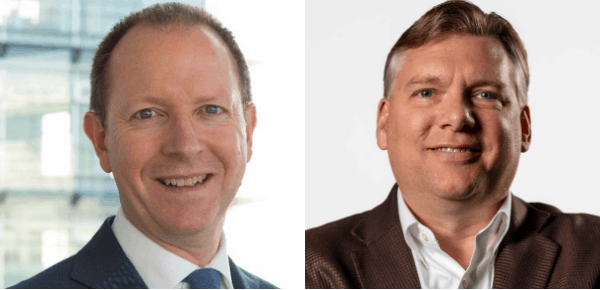 Justin Sherrard, Rabobank and Michael Helmstetter from TechAccel